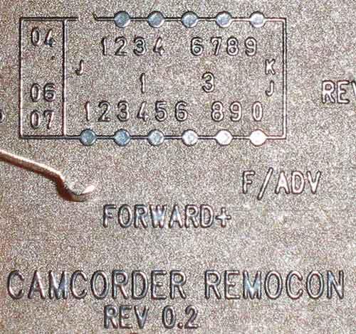 camcorder remocon rev 0.2