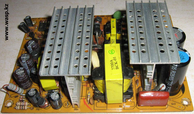 ATX-300W P4 на основе платы KY-2102 REV:1.7-1102