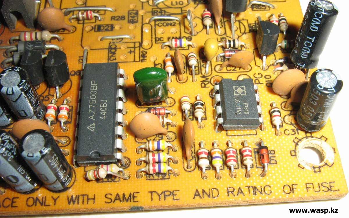 блок питания на ШИМ-контроллере AZ7500BP ремонт