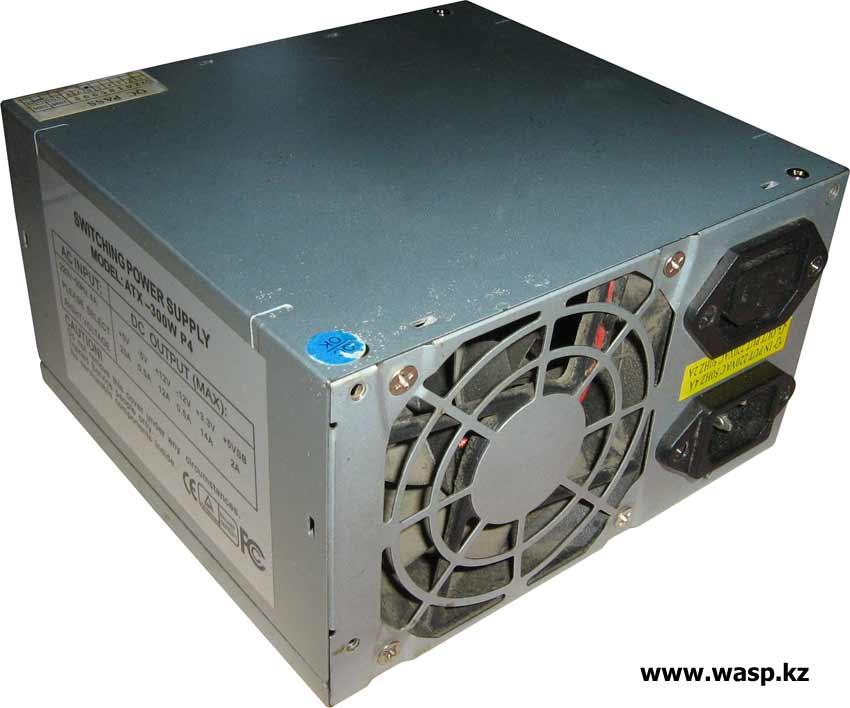 ATX-300W P4 блок питания неизвестного производителя