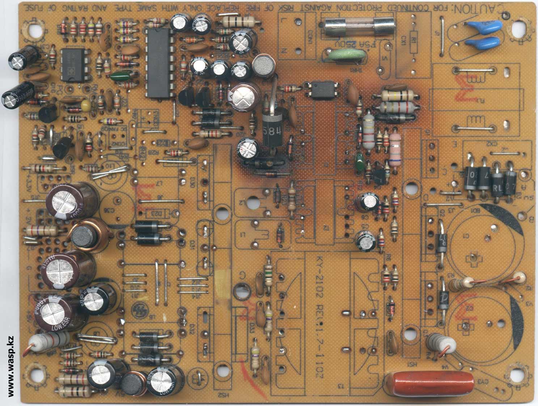 схема блока питания ATX-300W P4 на микросхеме 7500B и TL7510