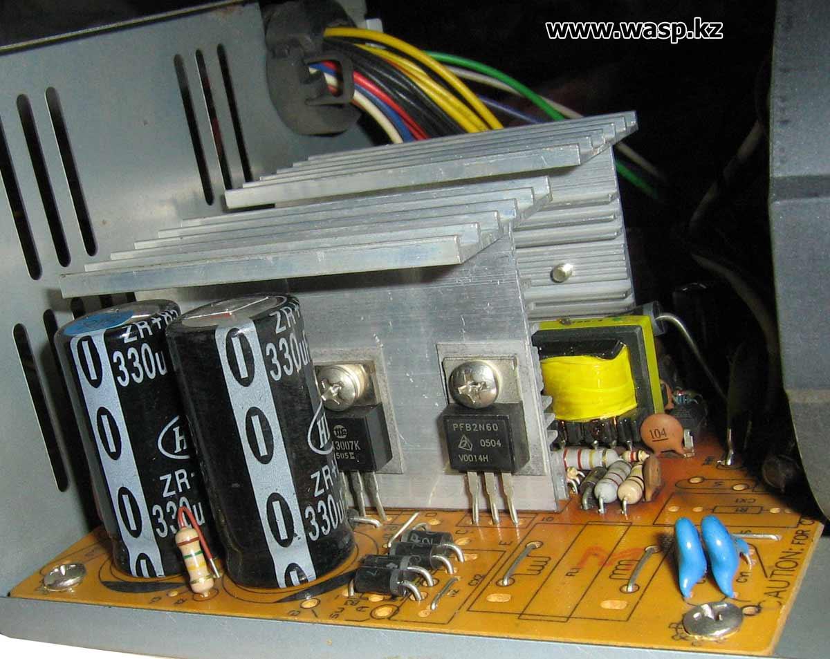 конденсаторы на входе блока питания 330 мкФ на 200 вольт HEC