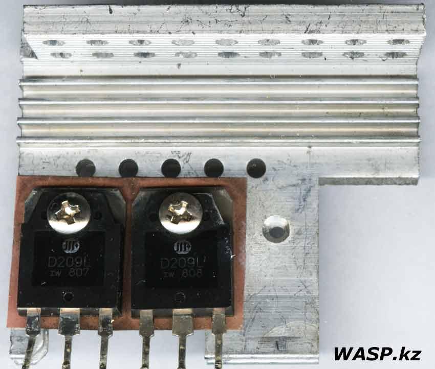 D209L транзисторы в FSP ATX-400PNR сгорели, как проверить?
