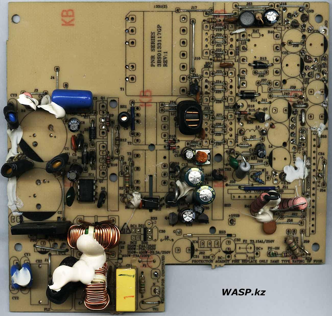 FSP ATX-400PNR схема блока питания