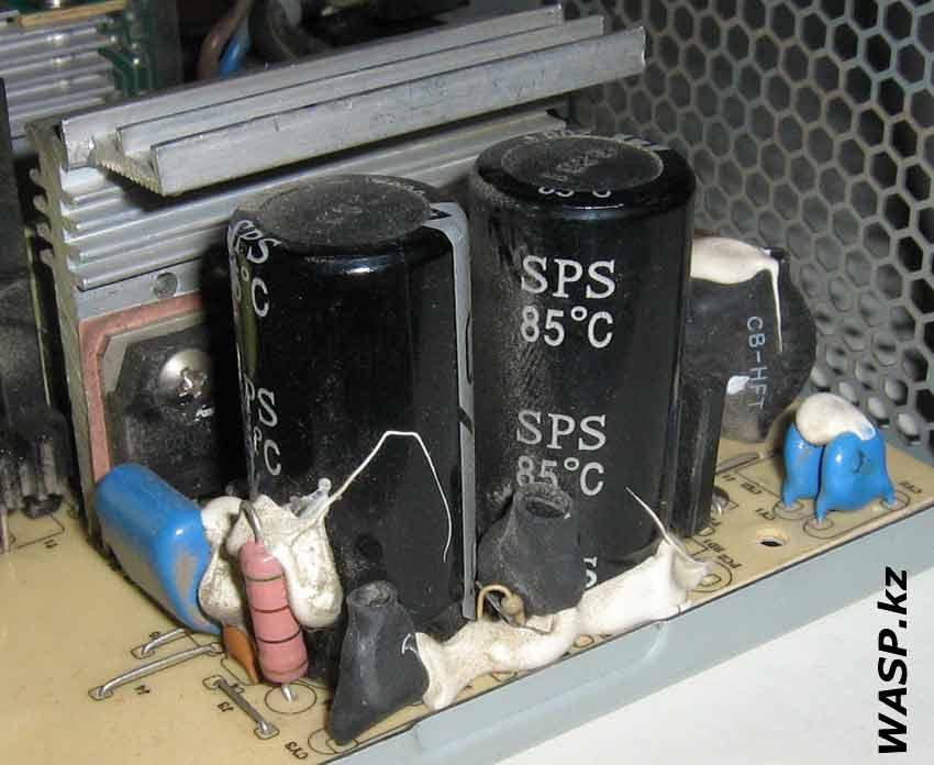 FSP Group ATX-400PNR конденсаторы на входе