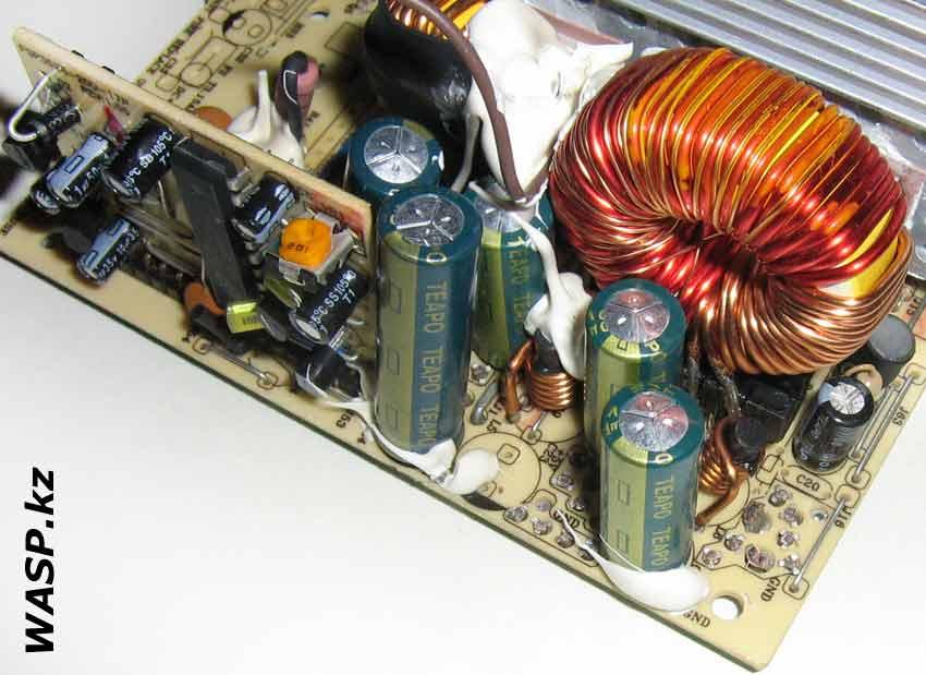 FSP ATX-400PNR выход, не хватает конденсатора