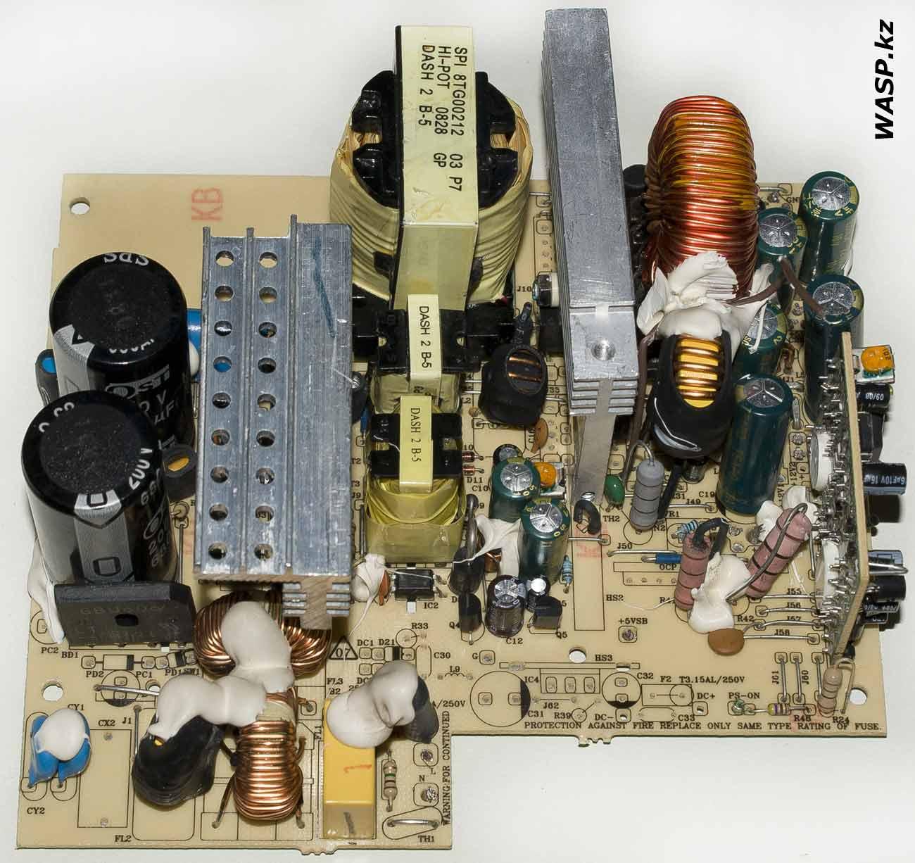 FSP ATX-400PNR определение неисправности