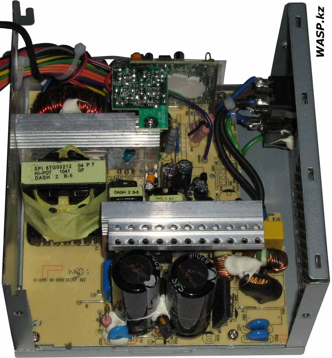 FSP ATX-450PNR устройство и электроника, неисправность