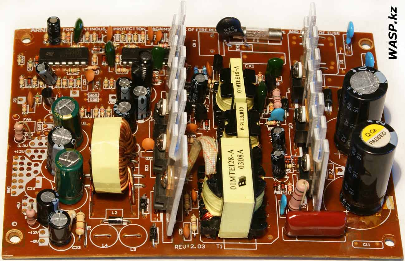 INTEX ATX-300W power supply board