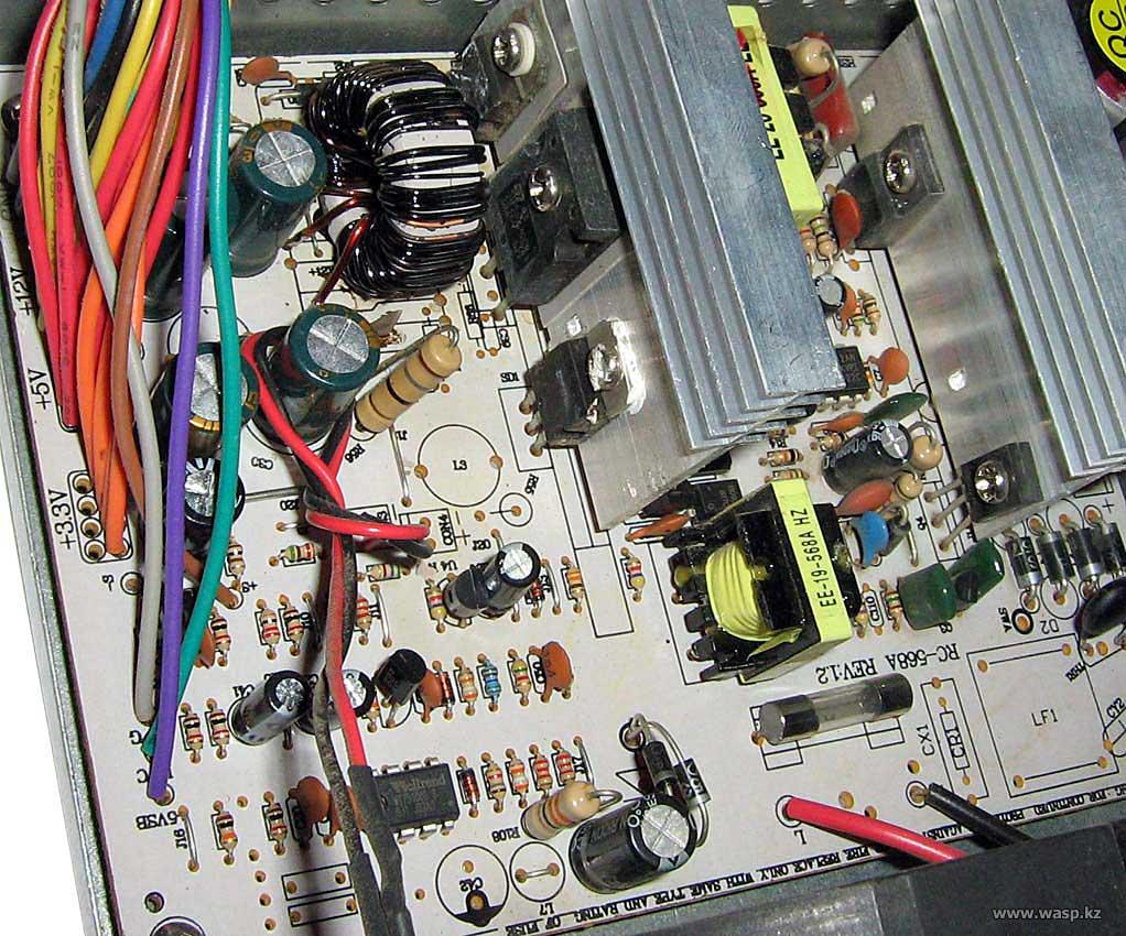 Intex IT-20F1BC Expert сгоревший блок питания
