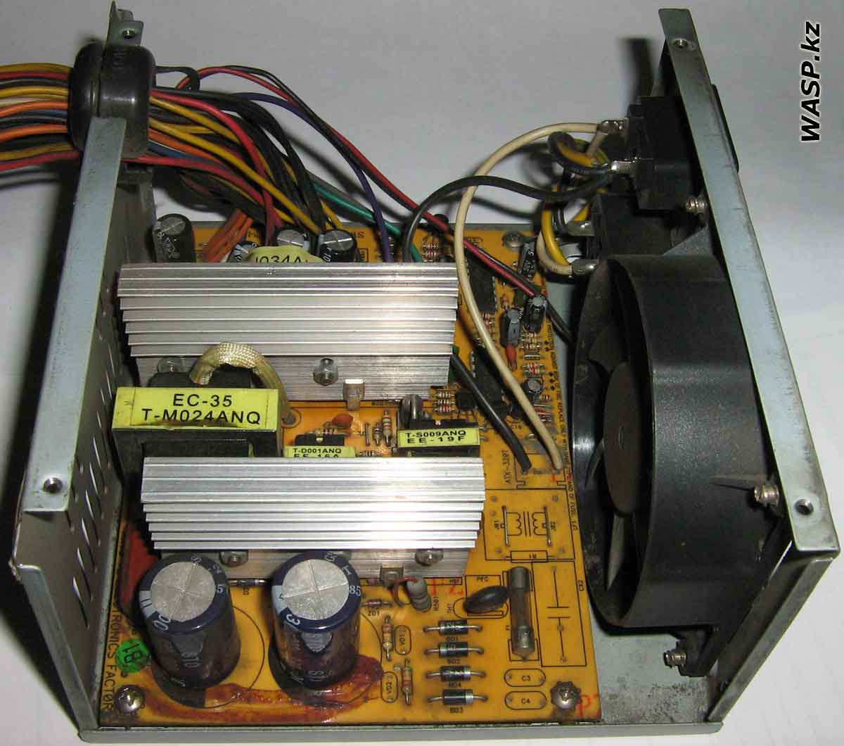 P4-300W ATX Switching Power Supply разборка