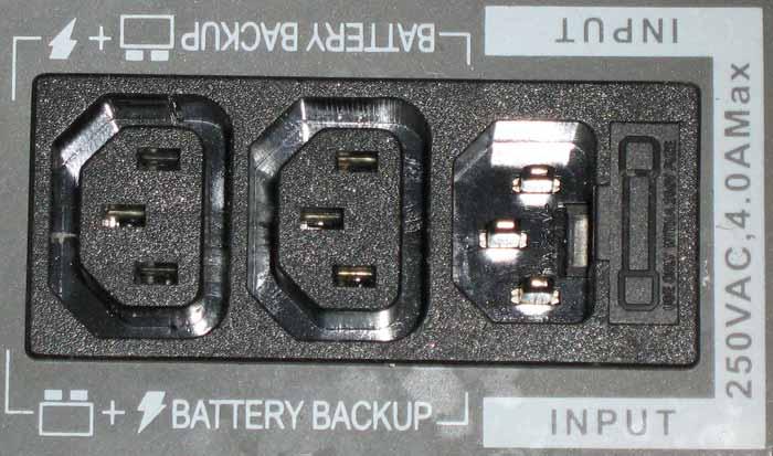 Внешние разъемы NT-600 E