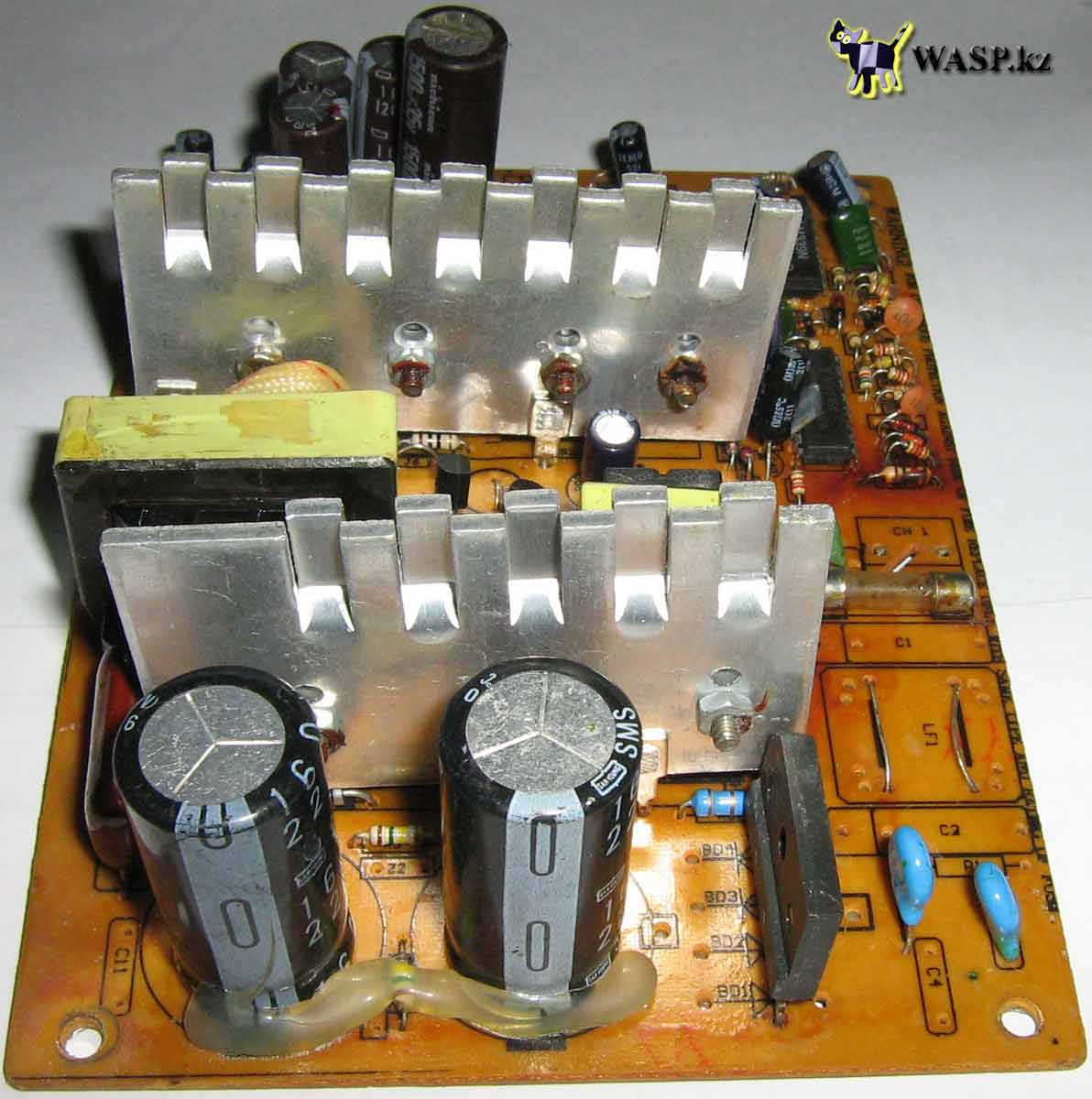 ремонт блока питания для компьютера