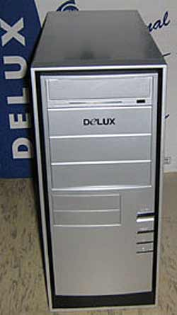 Delux S8211 ATX 300W silver and black elements
