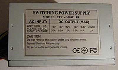 Switching power supply NoName ремонт