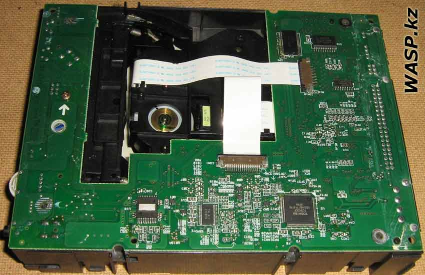 CyberDrive 361D устройство привода - электроника
