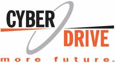 логотип CyberDrive more future производитель CD и DVD