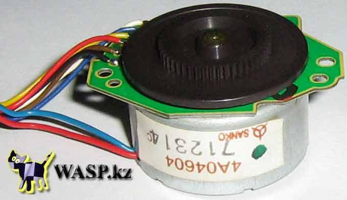 SANKO 4A04604 двигатель для позиционирования лазера