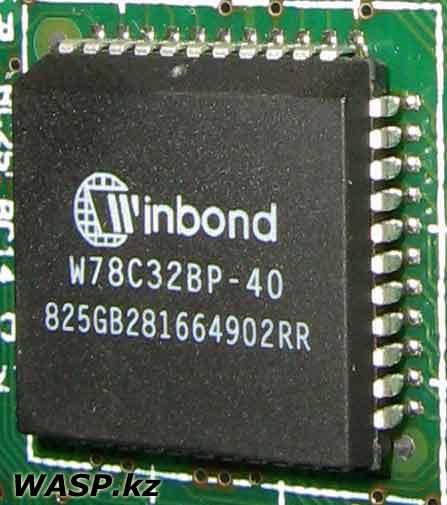 Winbond W78C32BP-40 - 8-битный микроконтроллер
