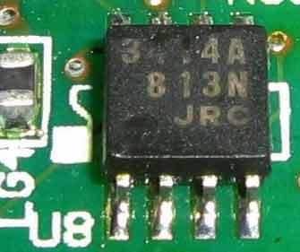 TL3414A микросхема, усилитель для наушников