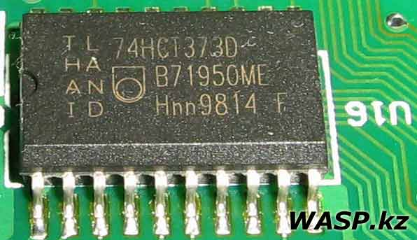 74HCT373D Philips микросхема в оптическом приводе