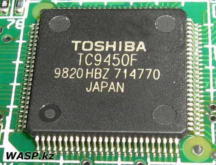 TOSHIBA TC6450F чип используется в CD и DVD приводах