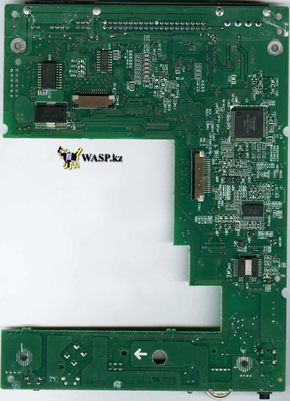 схема платы электроники на CyberDrive 361D