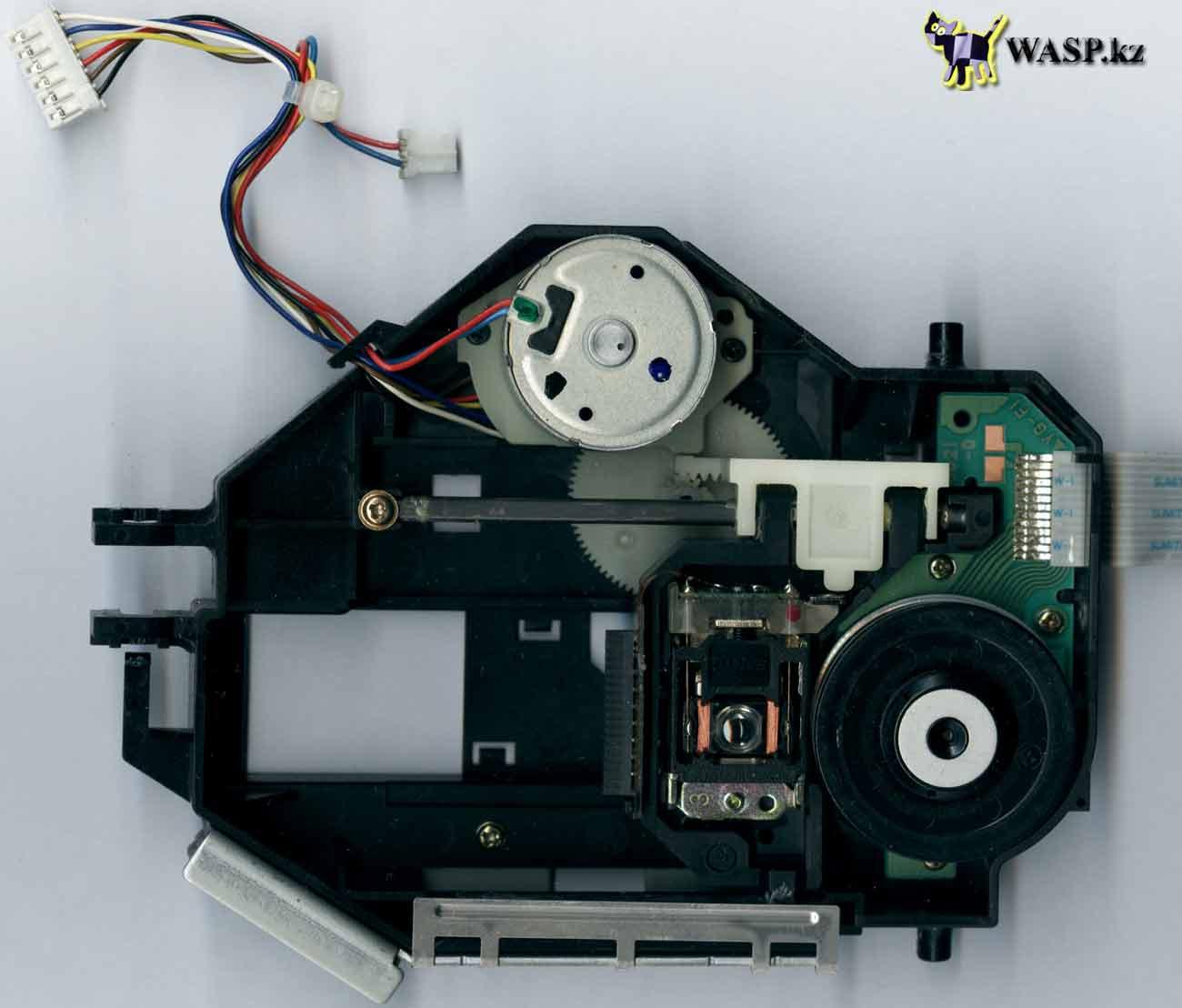 CyberDrive 361D блок оптической головки в приводе