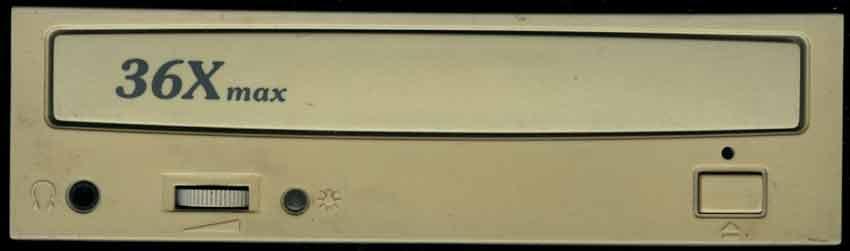 CyberDrive 361D передняя панель CD привода