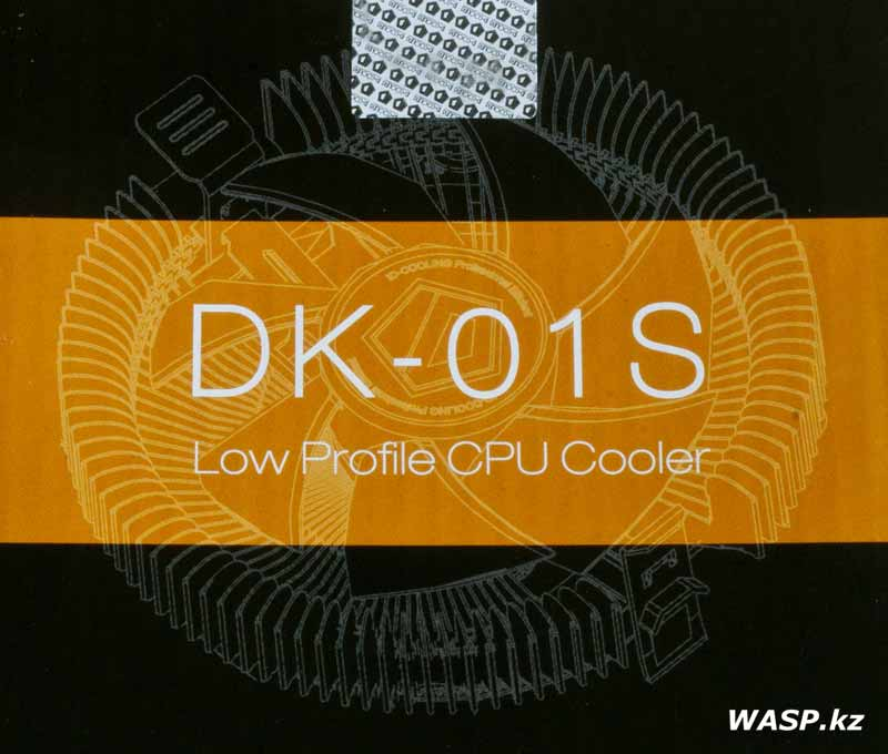 ID-Cooling DK-01S Low Profile CPU Cooler описание