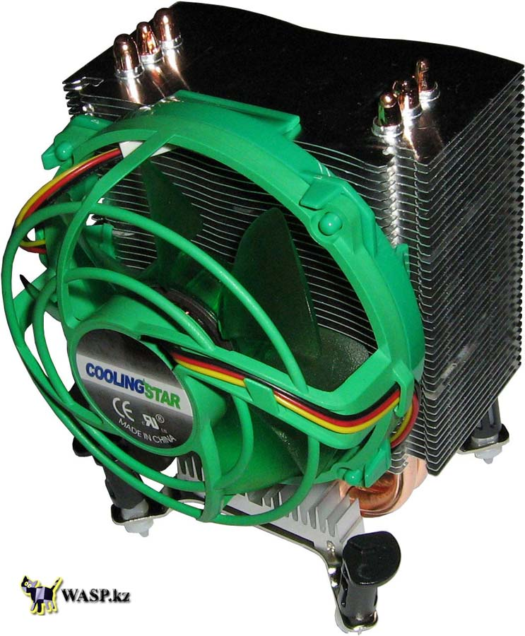 Процессорный кулер Cooling Star - Yoda CS HU-01, LGA775/SAM2