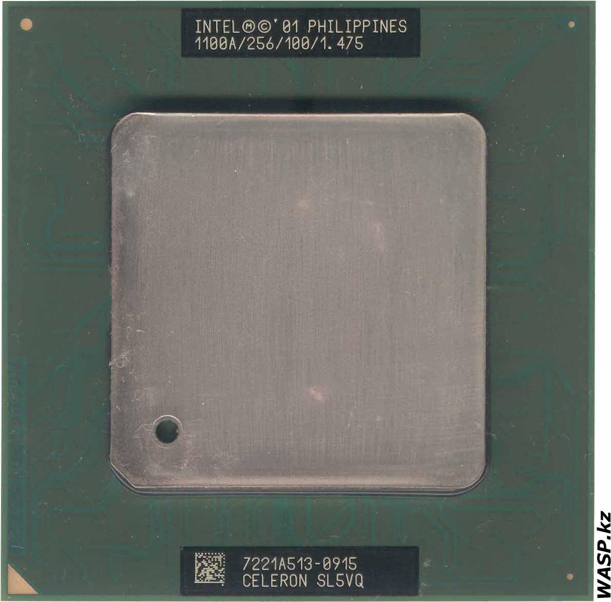 Intel Celeron 1100A процессор на ядре Tualatin