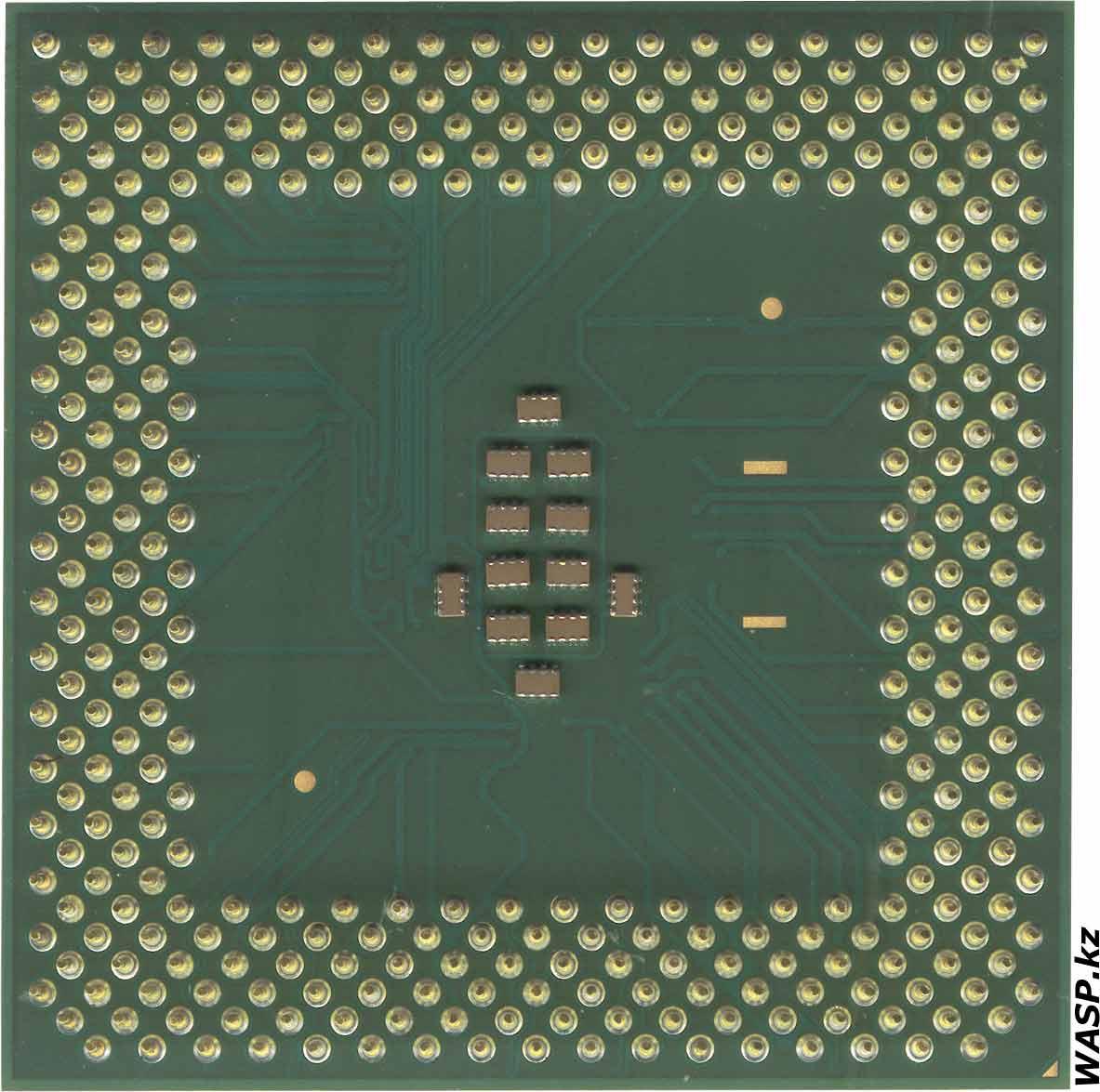 Intel Celeron 1100A Tualatin разгон процессора