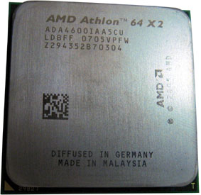 AMD Athlon 64X2 4600+ (Windsor)