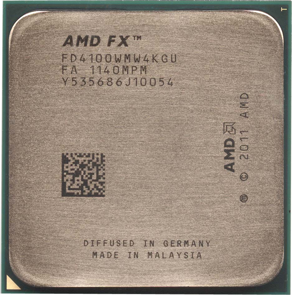 AMD FX-4100 Black Edition Zambezi