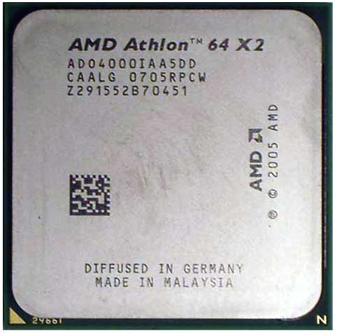 Процессор AMD Athlon 64 X2 4000+ (Brisbane)
