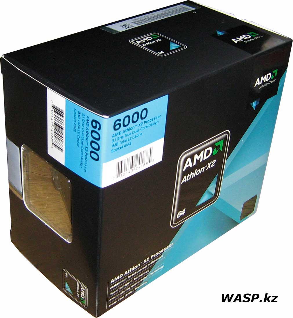 AMD Athlon 64 X2 6000+ на ядре Brisbane