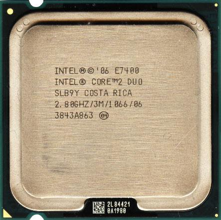 Core 2 Duo E7400 SLB9Y