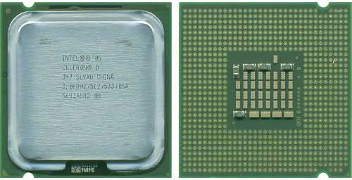 Intel CeleronD 347 3.06 GHz Socket 775 533MHz 512k, 64 bit