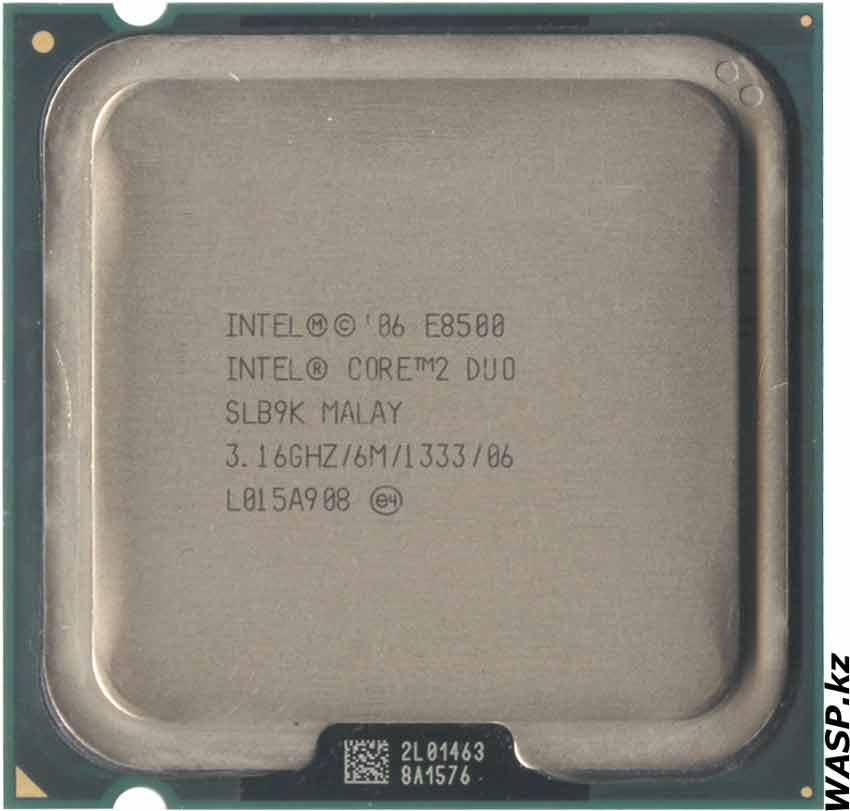 Intel Core 2 Duo E8500 процессор на LGA775