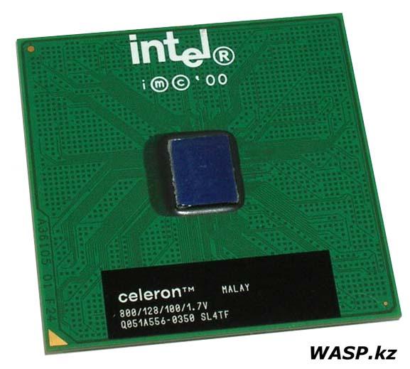 CPU Intel Celeron 800 MHz 128K FC-PGA