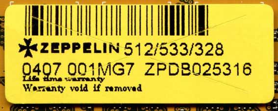 DIMM Zeppelin