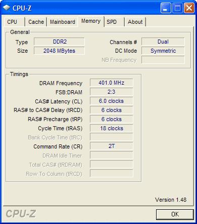 memory dual symmetric