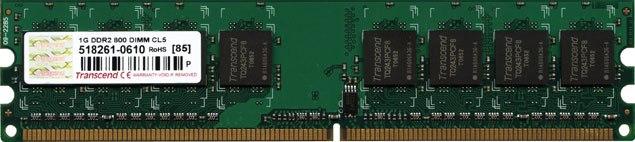 Оперативная память Transcend JM800QLU-1G – DDR2 800 MHz (PC-2 6400) 1 GB