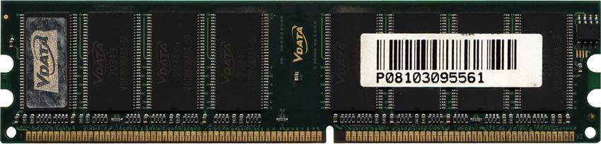 Оперативная память V-Data DDR400, 512 Мб, MDGVD5F3H475B1 EZ2