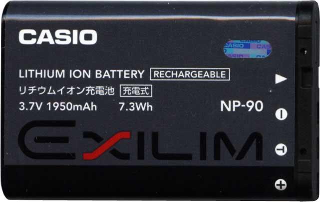 аккумулятор Casio NP-90 для EX-H20G Exilim