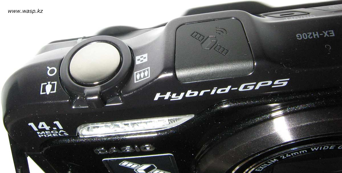 Casio Exilim Hi-Zoom EX-H20G антенна Hibrid-GPS