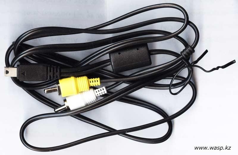 кабель USB to TCA для фотоаппаратов Casio Exilim