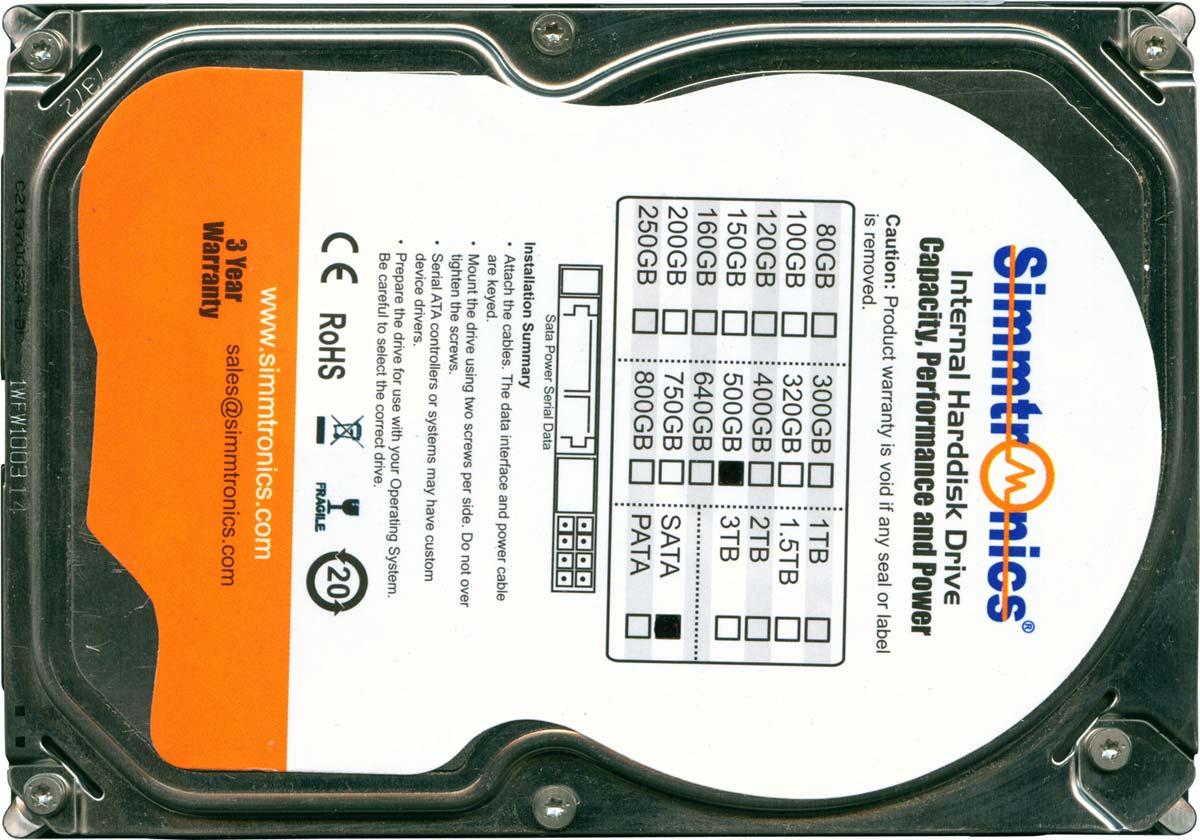 Жесткий диск Simmtronics ST3500312CS 500 Гб SATA-II