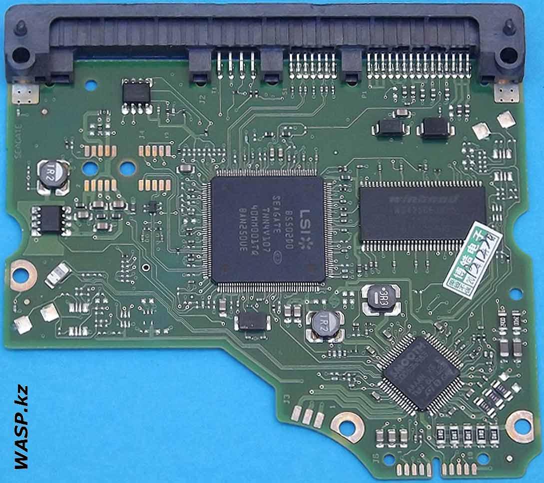 ST31000528AS схема платы электроники